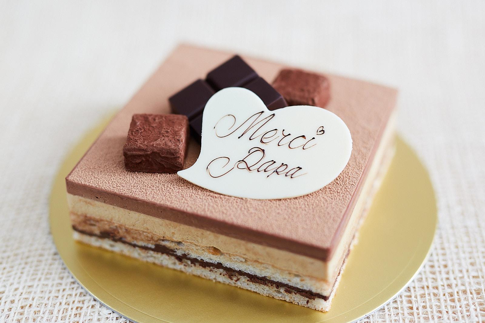 なかたに亭の父の日ケーキ